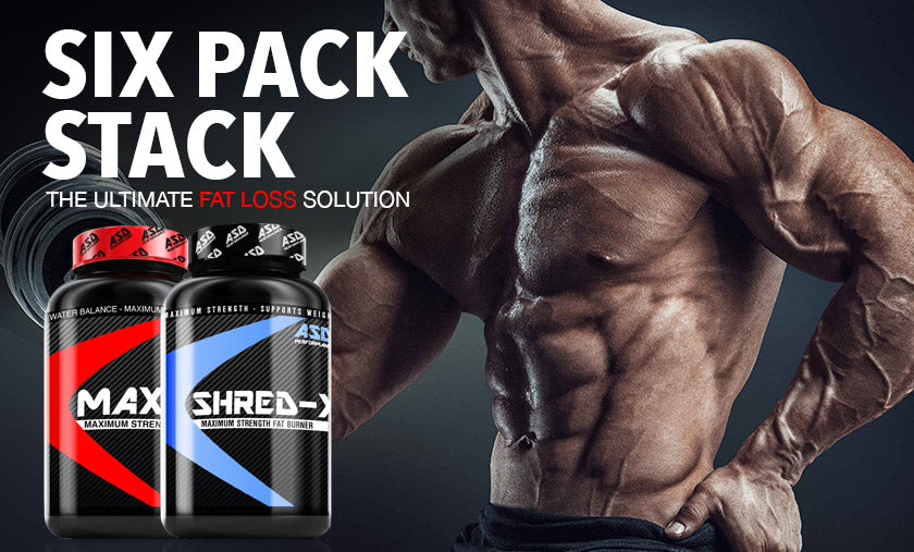 Six Pack Stack - Fat Burners For Men