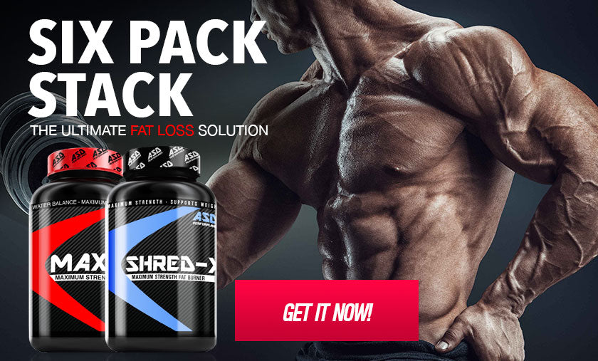 Six Pack Stack - Burn Fat - Build Muscle