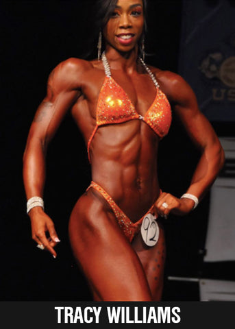 Tracy Williams Fitness Model and ASD Performance Athlete, @tracynwilliams