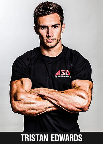 Tristan Edwards founder of ASD Performance Sports Supplements
