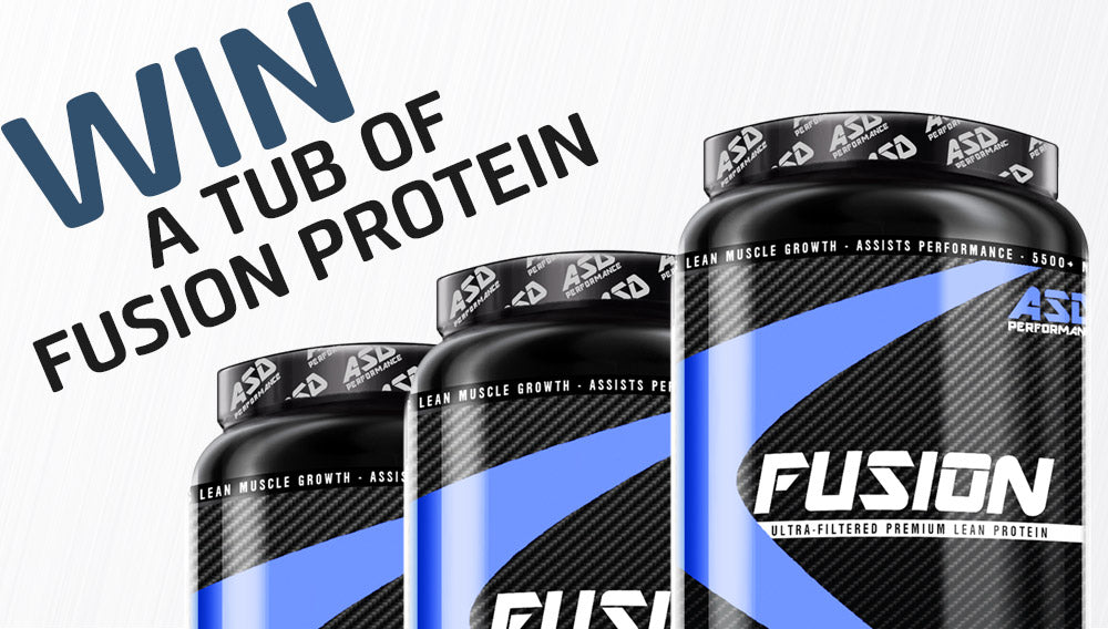 Win a Tub Of Fusion Protein