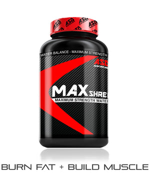 ASD Performance MAXShred Water Weight Loss