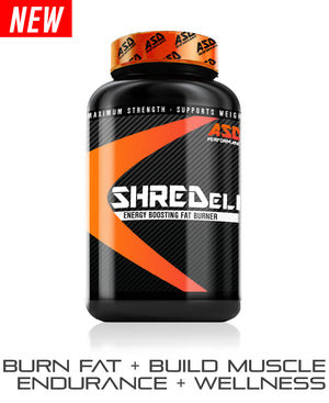NEW! Shred Elite - Energy Boosting Fat Burner