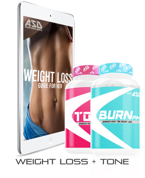 WEIGHT LOSS GUIDE FOR HER + SUPPLEMENTS