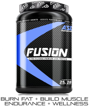 Fusion - Premium Lean Whey Protein, bodybuilding essentials!