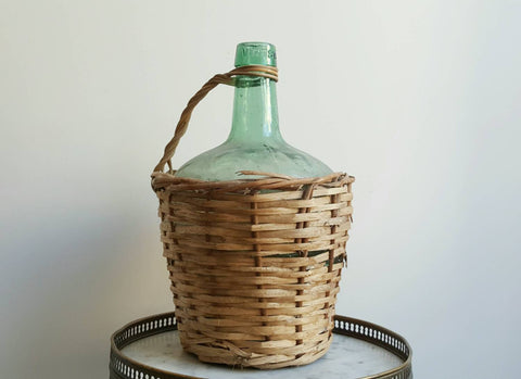 French Vintage Wine Jug-Faraway Places
