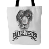 Battle Tested Tote Bag