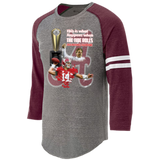 Alabama Crimson Tide 2016 National Champions Heathered Vintage Shirt