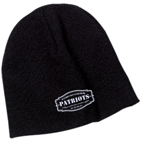 The Ultimate Fan Of The New England Patriots Beanie