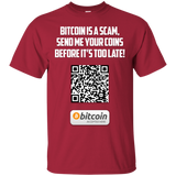 Bitcoin Is A Scam T-Shirt