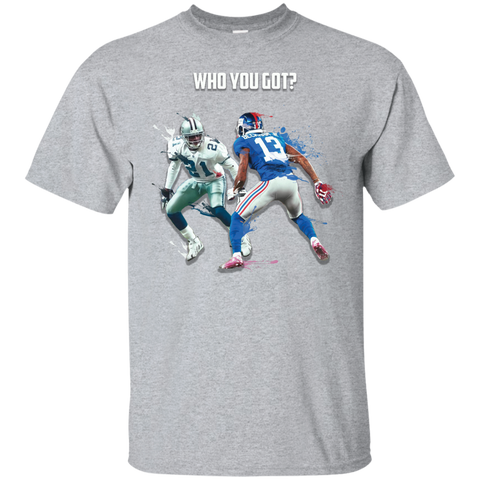 Odell vs Prime Time Custom Ultra Cotton Unisex T-Shirt