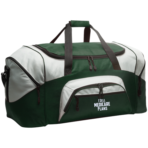 I Sell Medicare Plans Colorblock Sport Duffel