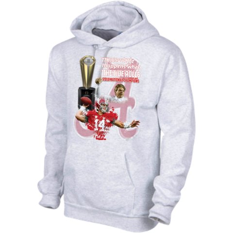 Alabama Crimson Tide 2016 National Champions Hooded Sweatshirt 9.5 oz