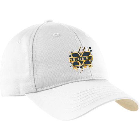 Michigan Wolverines Splatter Logo Dry Zone Nylon Cap