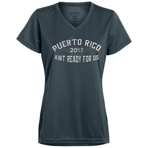 Puerto Rico Girls Trip 2017 v2 1790 Augusta Ladies' Wicking T-Shirt