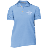 I Sell Medicare Plans Ladies' Cotton Pique Knit Polo