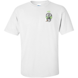 #420 Weed Ultra Cotton Unisex T-Shirt Left Chest Logo