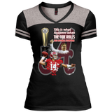 Alabama Crimson Tide 2016 National Champions Juniors Varsity V-Neck Tee