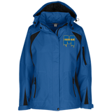 Michigan Wolverines I Bleed Blue Ladies Custom Embroidered Jacket