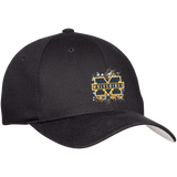 Michigan Wolverines Splatter Logo Flex Fit Twill Baseball Cap