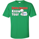 Diabetes Awareness Know Your A1c Unisex Custom Ultra Cotton T-Shirt