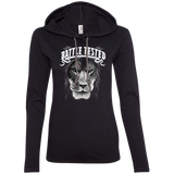 Battle Tested Ladies LS T-Shirt Hoodie