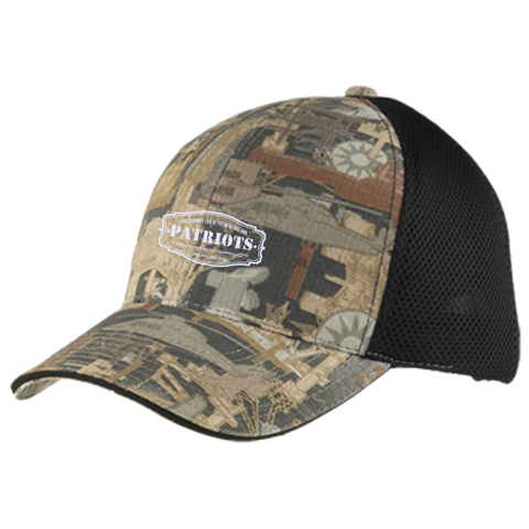 new arrival 52e72 00312 The Ultimate Fan Of The New England Patriots Camo Cap with Mesh ...