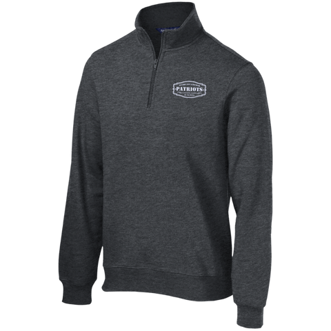 best authentic 8c2e1 09d59 The Ultimate Fan Of The New England Patriots Quarter-Zip Embroidered  Sweatshirt