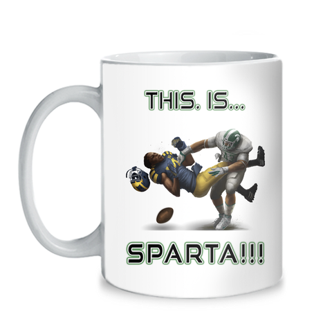 Michigan State Spartans This Is Sparta 11 oz Mug