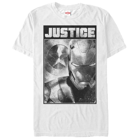 Captain America Civil War Iron Justice T-Shirt