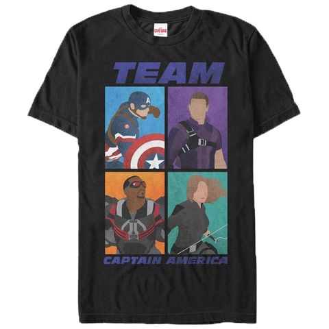 Captain America Civil War Team Captain T-Shirt