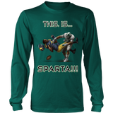 Michigan State Spartans This Is Sparta Long Sleeve T-Shirt