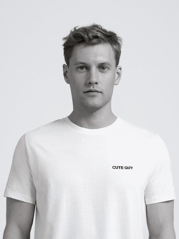 Cute Guy T-Shirt/ White