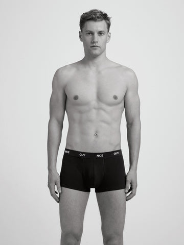 Nice Guy Boxer Brief/ Black