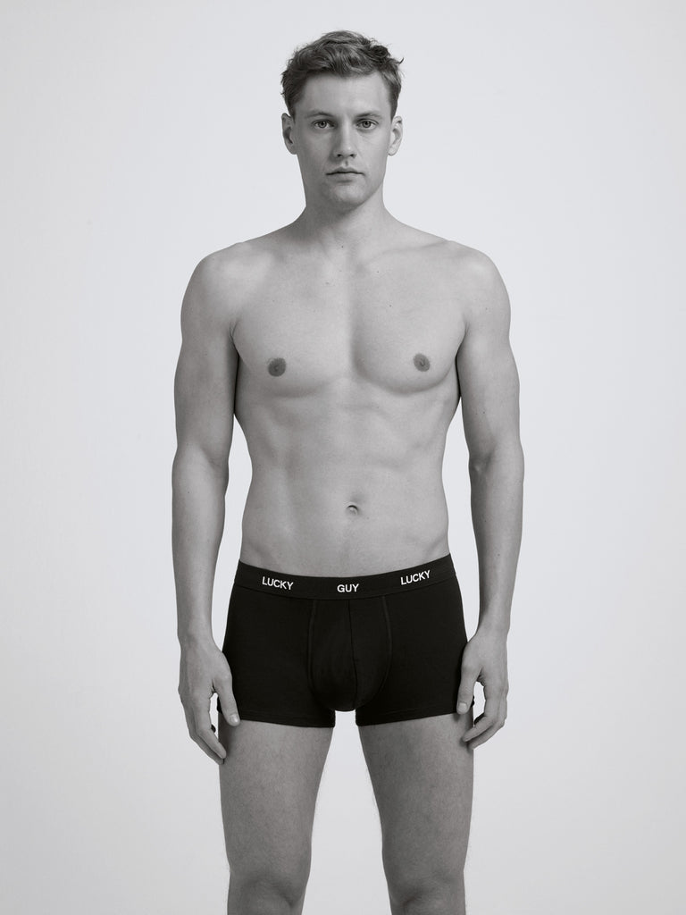 Lucky Guy Boxer Brief / Black
