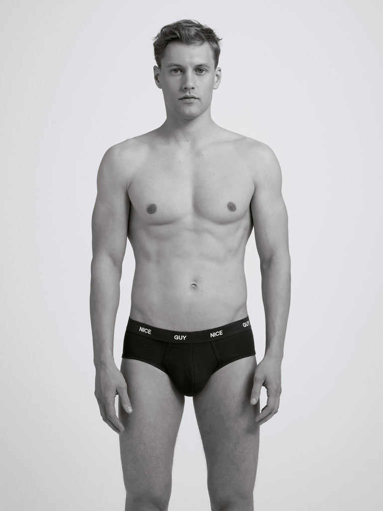 Nice Guy Slim Brief/ Black