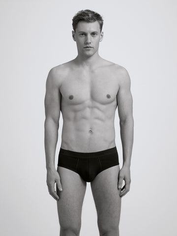 Core Slim Organic Brief/ Black