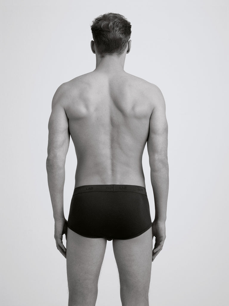 Classic Rib Brief / Black