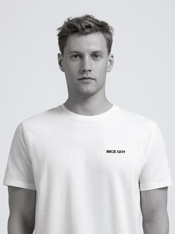 Nice Guy T-Shirt/ White