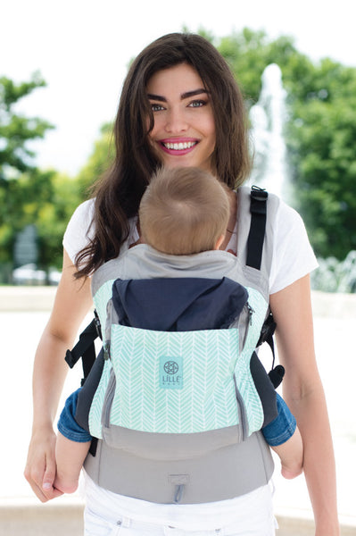 ESSENTIALS All Seasons 4-in-1 Baby Carrier - Boardwalk