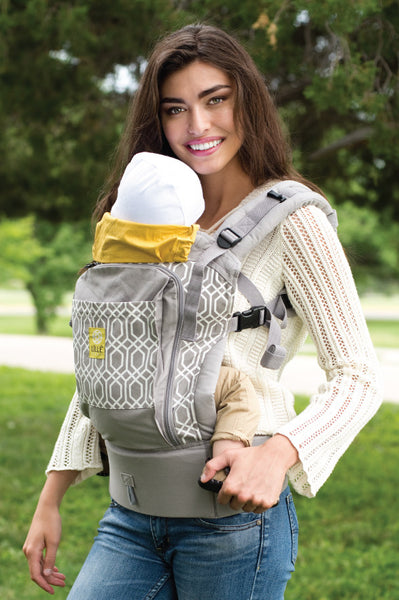 ESSENTIALS All Seasons 4-in-1 Baby Carrier - Park Place