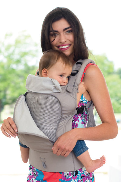 ESSENTIALS All Seasons 4-in-1 Baby Carrier - Stone