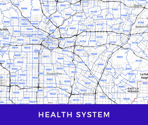business maps for the health system