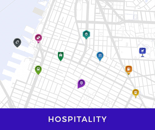 business maps for hospitality and hotels