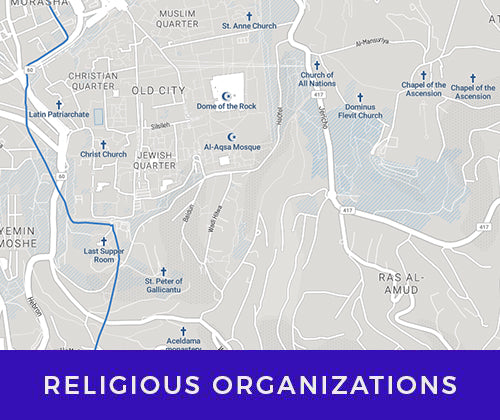 Business Maps for religious organizations