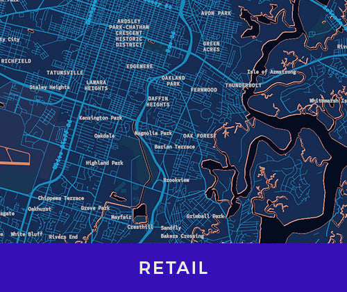 Business maps for retail