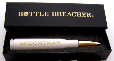 Bottle Breacher .50 Caliber - Pink Breast Cancer Support Ribbon