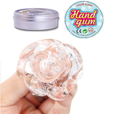 Hand Gum Putty - Liquid Glass, Glow in the Dark, Heat Sensitive, and Magnetic