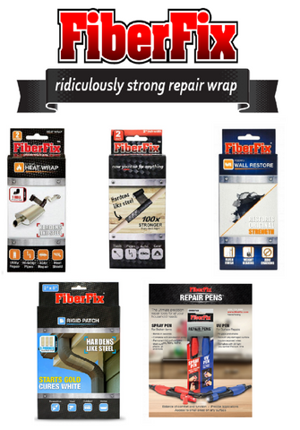 FiberFix - Rolls, Patches, Glue, and Tape