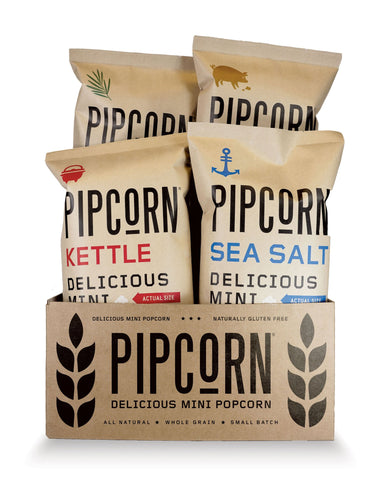Pipcorn - Sea Salt, Truffle, Kettle, and Rosemary